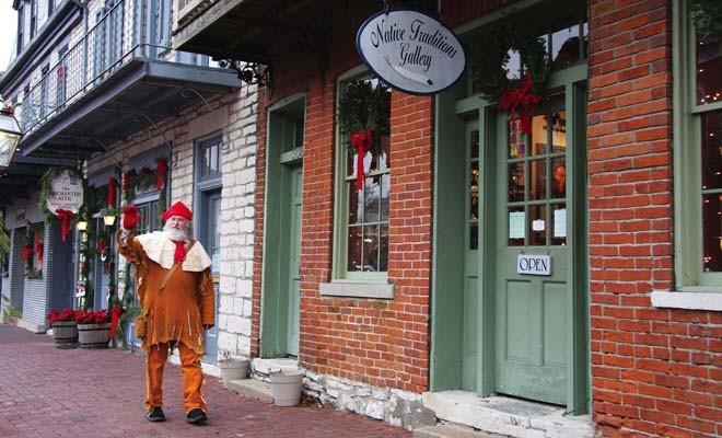 visit historic St. Charles, Mo