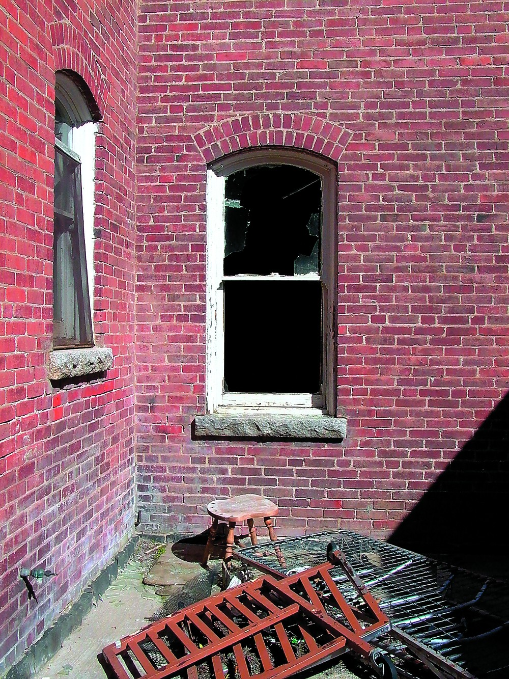 The former St. Ignatius Hospital at Colfax will be haunted on Oct. 21-30 ... - TRIBUNE/BARRY KOUGH