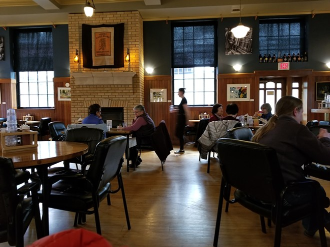 Paradise Creek Brewery is housed in a remodeled 1930s post office in downtown Pullman.