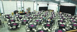 The winery functions as an event center serving up to 500 people. - TRIBUNE/STEVE HANKS
