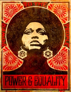 Angela Davis' image became a rallying cry for the black power movement in the 1970s.