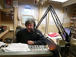 Leigh Robartes, Station Manager, Radio Free Moscow. Photo courtesy of Maree McHugh.