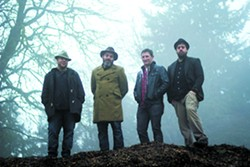 Portland, Oregon's Folkslinger features Lewiston-Clarkston Valley native Michael Mosher, third from right.