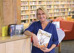 Lewiston City Library Librarian Heather Stout helped select the best audiobook of 2016 to winOdyssey Award.