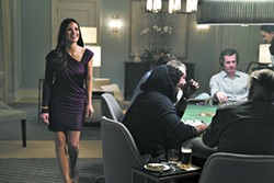 Jessica Chastain in MOLLY'S GAME - COURTESY OF STXFILMS