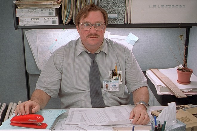 """""""Office Space"""" is a classic 1999 satire about American office life."""