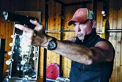"Michael Keaton is shown in a scene from ""American Assassin."""