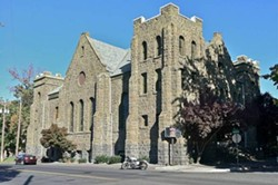 The Lewiston Civic Theatre is housed in a church more than a century old.