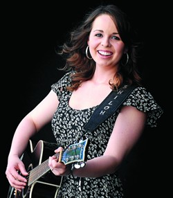 Country singer Shiloh Shirrard - TRIBUNE/BARRY KOUGH