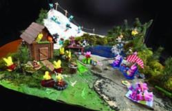 Peeps on Vacation - TRIBUNE/BARRY KOUGH