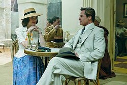 """Marion Cotillard and Brad Pitt star as spies who fall in love in """"Allied."""" -- Associated Press"""