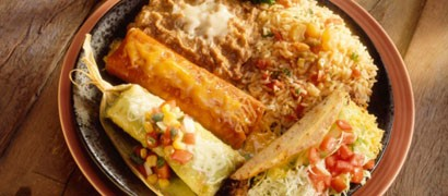 Mexican sampler platter - GETTY IMAGES