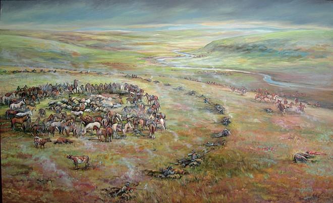Steptoe Battlefield by Nona Hengen