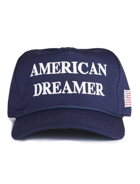 An American Dreamers hat now being sold on President Donald Trump's official website is being called a dog whistle to racists.