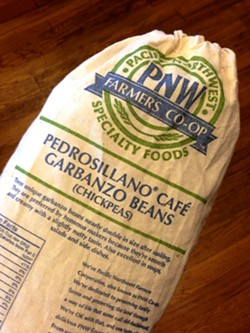 Pedrosillano Garbanzo beans are available for purchase at the Moscow Food Co-op and Huckleberry's Market in the Moscow Rosauers.