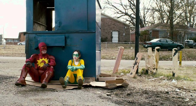 """A scene from the movie """"Super"""" made byDirector James Gunn before he did """"Guardians of the Galaxy."""""""