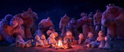 "A scene from ""Smallfoot."" (Warner Bros.) - WARNER BROS."