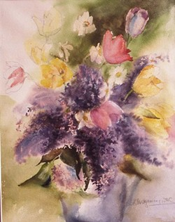 """""""Lilacs"""" by Kay Montgomery"""