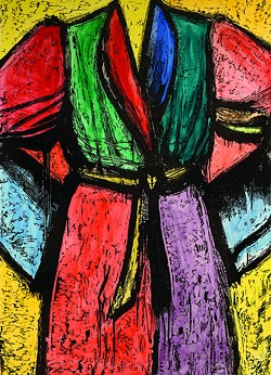 """This 2007 work by Jim Dine is called """"July on the Palouse."""""""