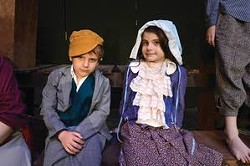 The cast Les Miserables at the Lewiston Civic Theater includes several young actors, including Paul Lane, 5, and Kai Klempel, 8. - BARRY KOUGH