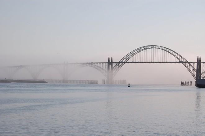 Newport's Yaquina Bay Bridge.