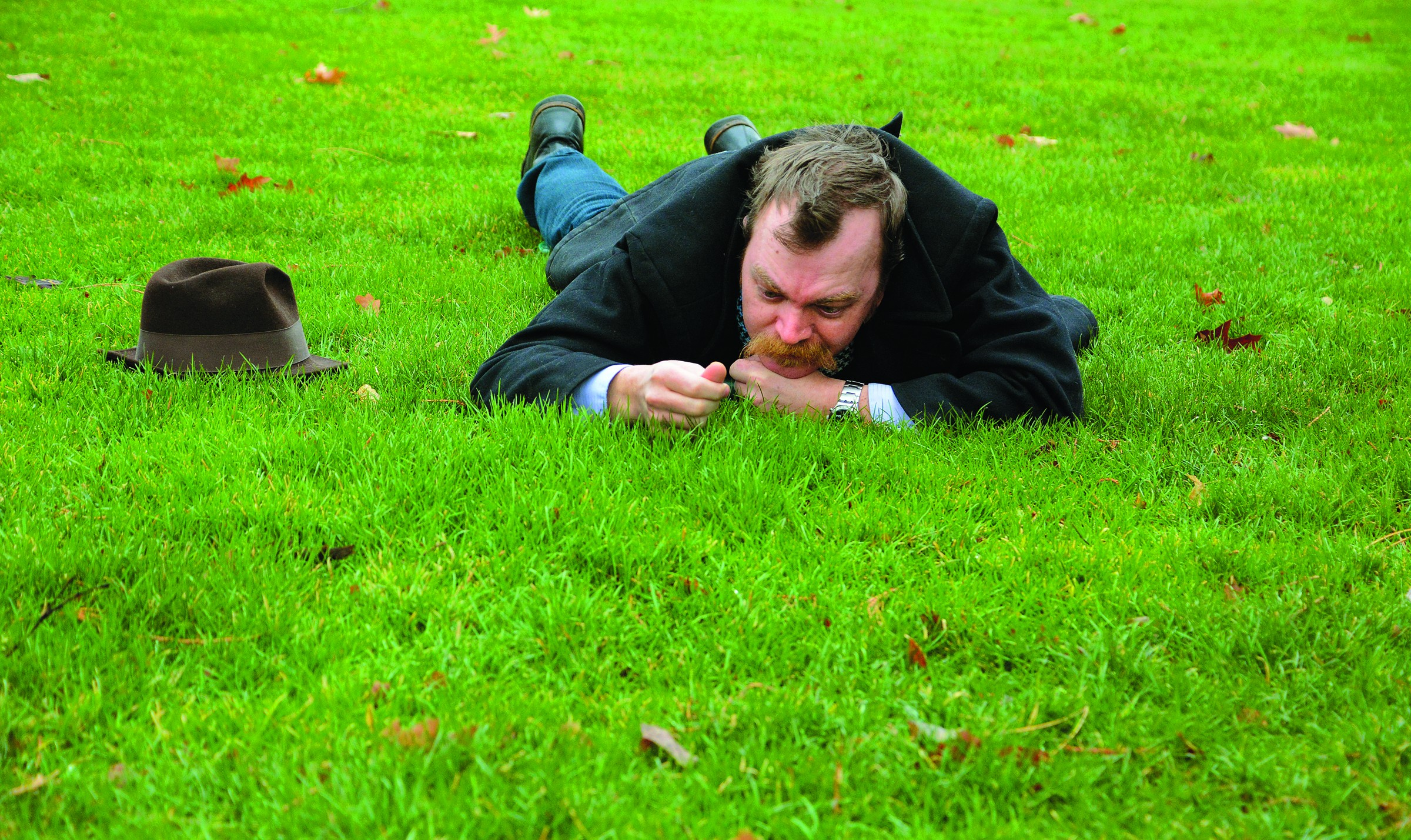 watching grass grow - TRIBUNE/BARRY KOUGH