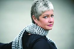 Moscow author Kim Barnes.