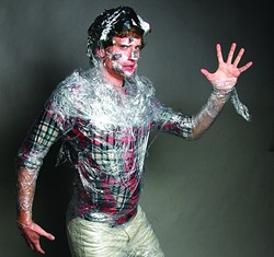Expired food was never so terrifying as in the Leftovers costume.