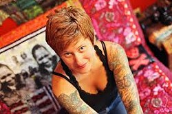 Jacey Boggs, director of Ply Magazine, is one of six teachers coming to the Palouse Fiber Arts Festival.