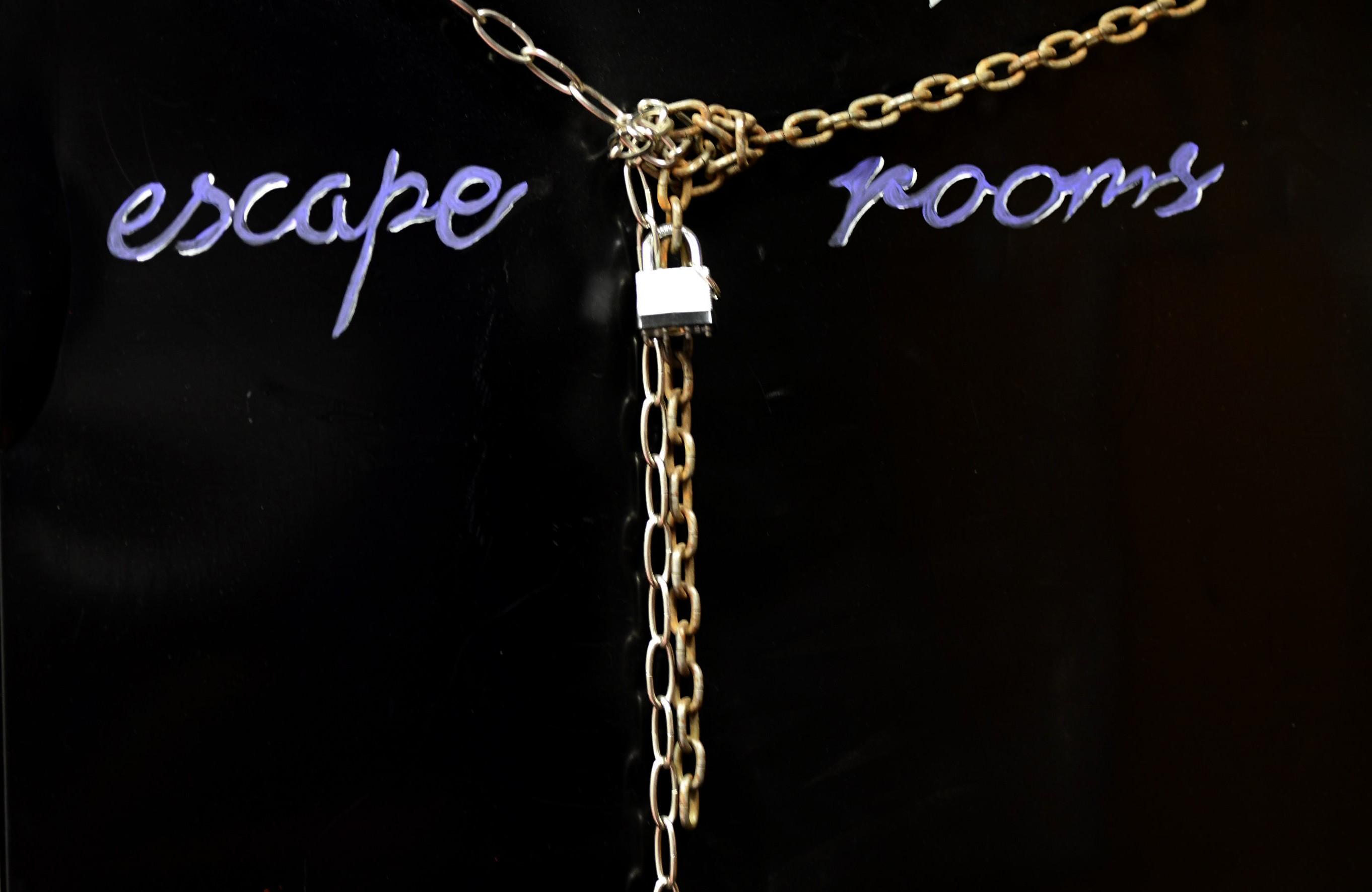 Escape Room for double truck - TRIBUNE/STEVE HANKS