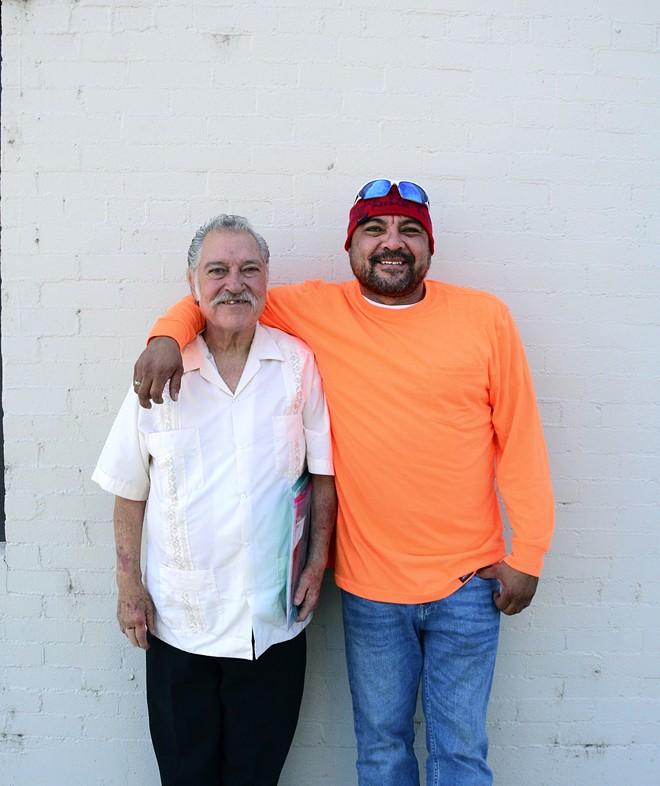 Jose Murillo and his son, Hector Murillo.