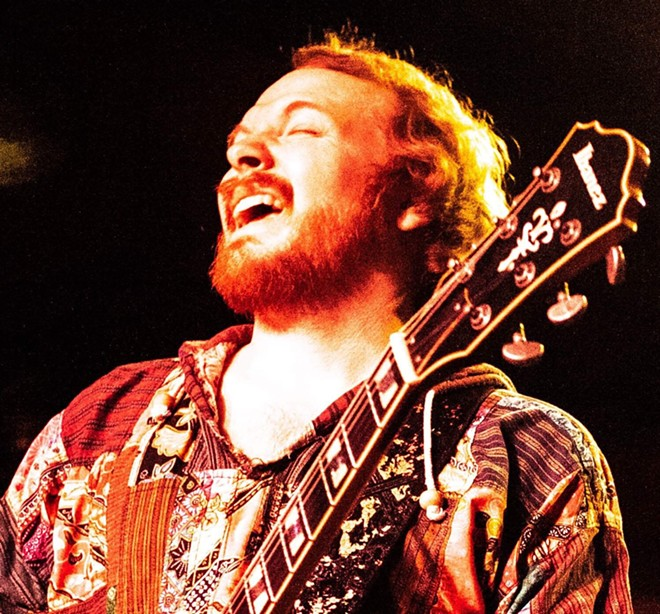 Jason Perry of the Jason Perry Trio, is one of the indie bands performing at this year's festival.