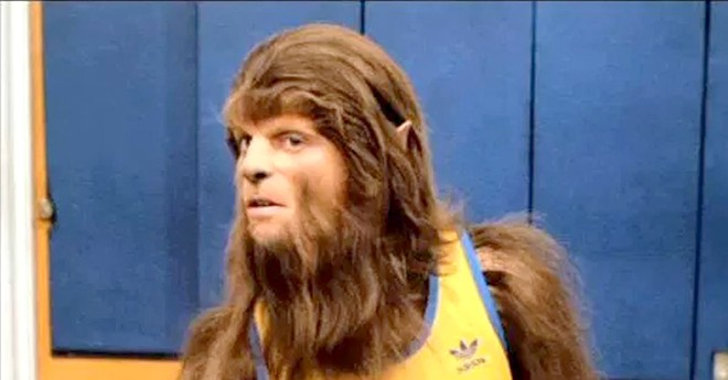 """Courtesy of mentalfloss.com. Michael J. Fox in a scene from 1985's """"Teen Wolf."""""""