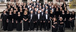 The Palouse Choral Society will give two concerts Oct. 26 and 27 in Uniontown.