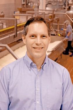 John Haugen, WSU Creamery manager