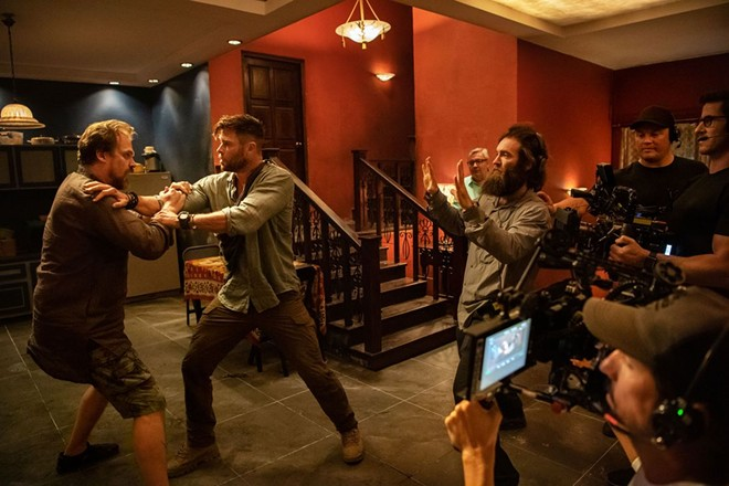 """Sam Hargrave, stunt coordinator and director of Netflix's """"Extraction,"""" says fight scenes might be changing until a vaccine can be developed. Photo credit: Netflix"""