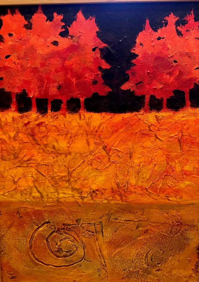 Judith Marvin Red Trees