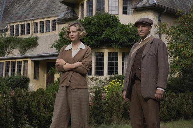 """Carey Mulligan and Ralph Fiennes star in """"The Dig."""""""