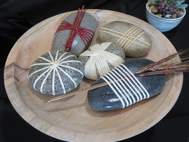 Japanese Wrapped Stones