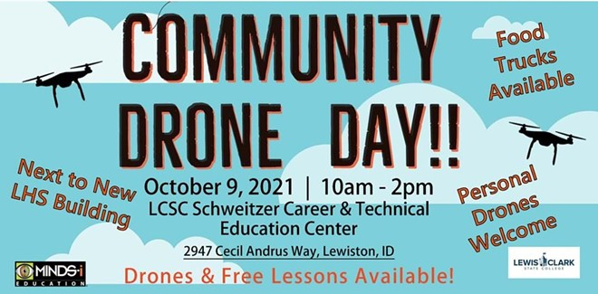 Community Drone Day Flier