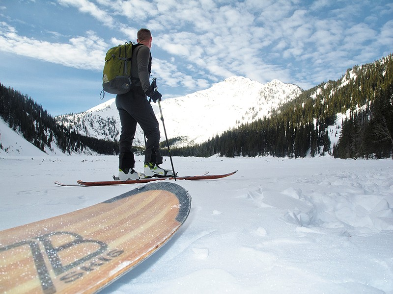 7B Skis are designed and manufactured in Sandpoint. - JOSH DELUCCHI