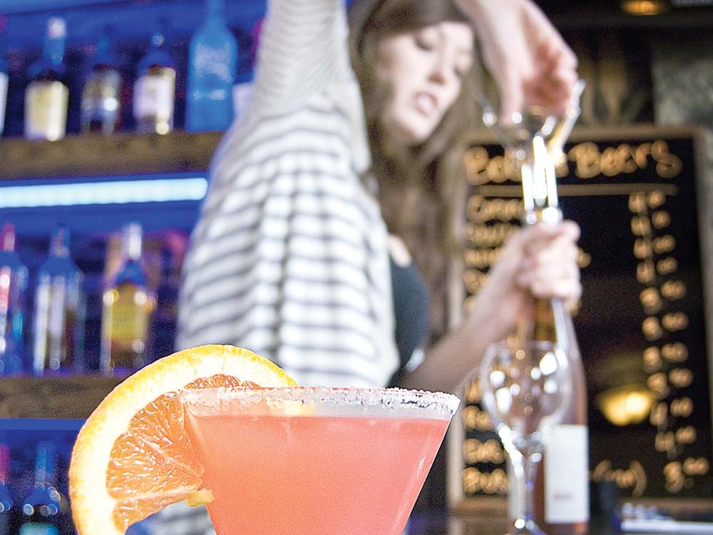 A Caribbean Cruiser at the Garland Avenue Drinkery - LORETTA SURMA