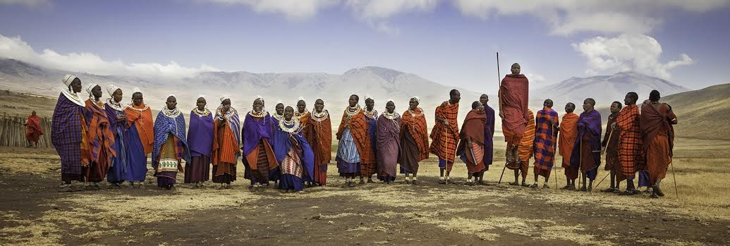 Nuess' photography of Africa is featured at the Brick Wall Gallery this month. - TEGRA STONE NUESS