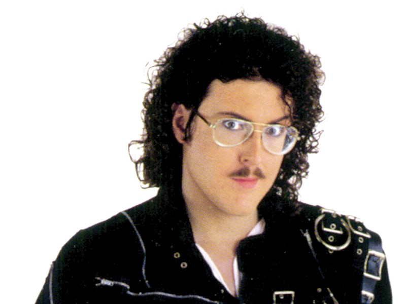 A real Weird Al nerd would know this is Al, pre-surgery days.