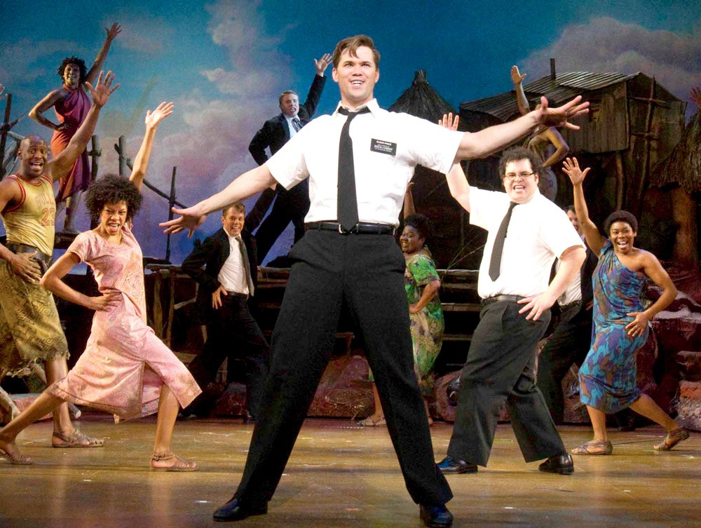 A scene from the Broadway musical The Book of Mormon