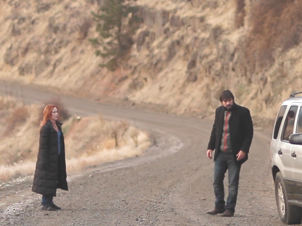 A scene from The Merry Graingers shot entirely in Eastern Washington.