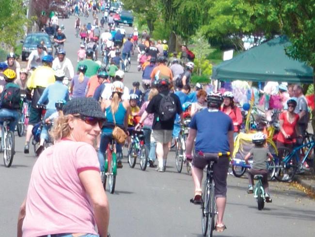 A Sunday Parkways event in Portland - GREG RAISMAN