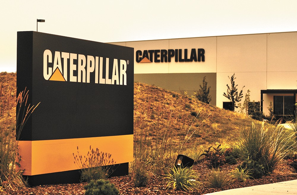 Al French says his development background helped in answering Caterpillar's concerns before the company opened a facility on the West Plains. - CHRIS BOVEY