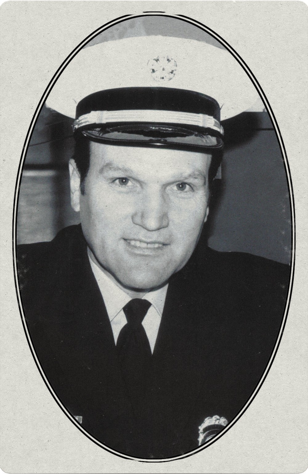 Al O'Connor in his uniform for the Spokane Fire Department, where he served as chief.
