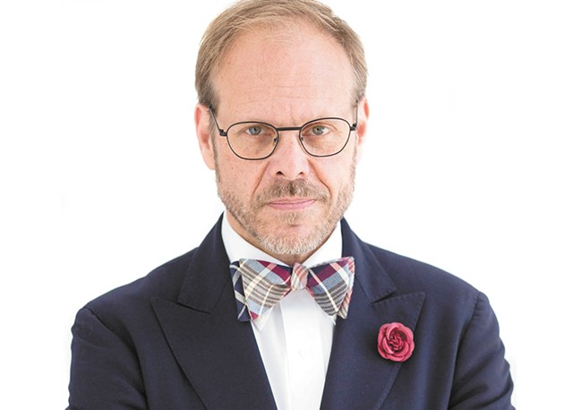 Alton Brown appears in Spokane on his The Inevitable Tour.